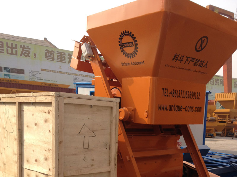 HZS25 Concrete Mixing Plant Successfully Export to Sri Lanka