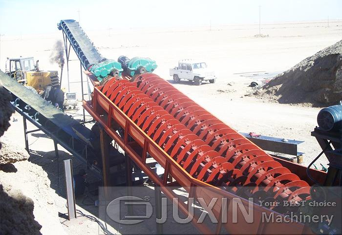 Screw Sand Washing Machine