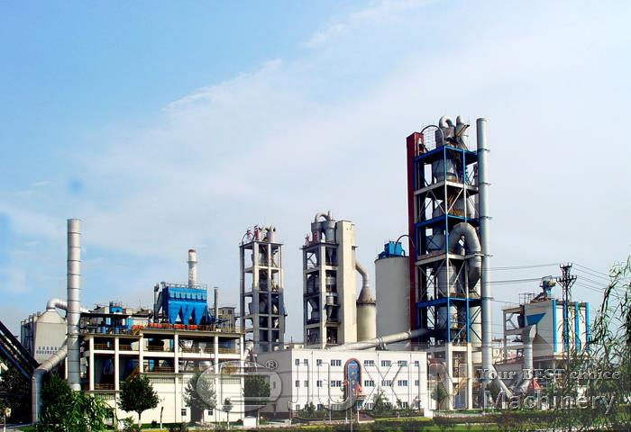 Russia 300t/day cement production plant